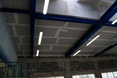 Warsztat samochodowy - instalacja oświetleniowa, rozdzielnia